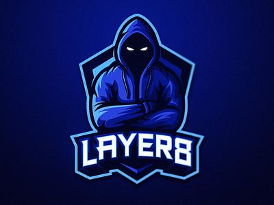 Layer8 shield eyes dmitry krino esports logos esports logo mascot logo hoodie anonymous hooded hood mascot