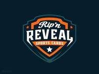Rip'N Reveal sports logo design sports design brand mascot logos mascot logo dmitry krino sports cards star sports logos esports logo sports logo badge