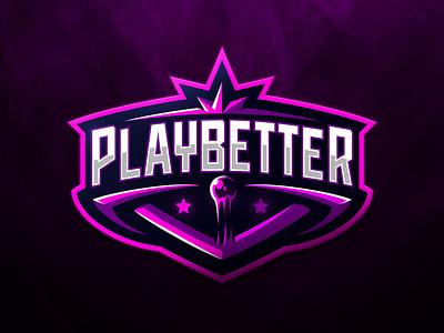 Playbetter badge dmitry krino esport logo sports logo sport strikeball paintball airsoft