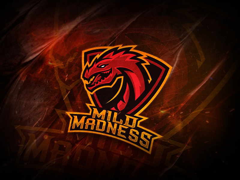 Mild Madness graphic design esports logo loskrinos logotype mascot esport