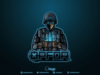 Thermite(Rainbow Six Siege) Mascot Logo ( For Sale)