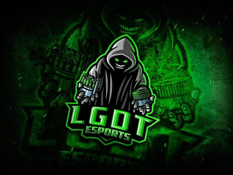 Ghost Reaper ghost character illustration esports logo esport branding logotype gaming esport logo esports krinographics mascot graphic design