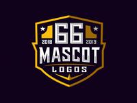 66 Mascot Logos