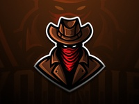 Cowboy Mascot for Younub Esports