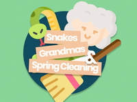Snakes, Grandmas & Spring Cleaning | Sermon Series