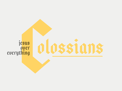 Colossians | Sermon Series youth ministry social media design design church social media sermon series church media church graphics church ministry church design