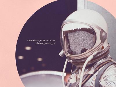 Technical Difficulties technical difficulties faceless space mood vintage remember tv collage stars