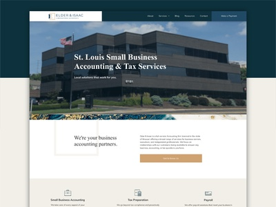 Small Business Accounting Website