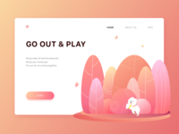 Go out and play - Web #01