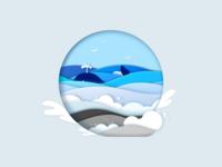 Ocean - Illustration Style Exercise
