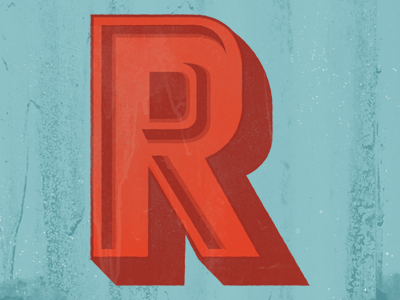 "Another ""R"" r type letter"