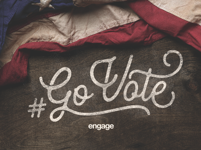 #GoVote 🇺🇸 election 2016 clinton trump murica america engage type vote