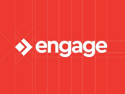 Engage Brand Refresh 2017 process mark forward progress design agency anatomy dc engage logo branding