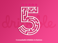 Engage Dribbble Contest! 5 Invites