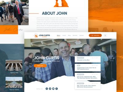 Congressman John Curtis Homepage