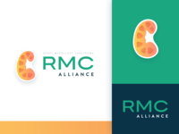 RMC Branding icon vector ui typography alliance rmc kidney cancer medical design web engage dc agency logo identity brand