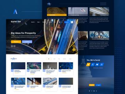 Sunwater Institute Homepage