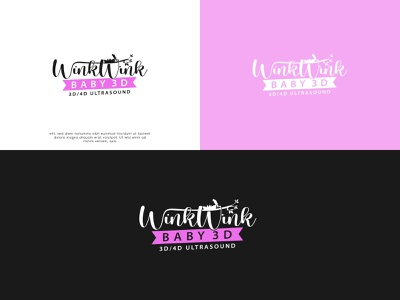 Wink Wink - Logo Design logo icon design branding