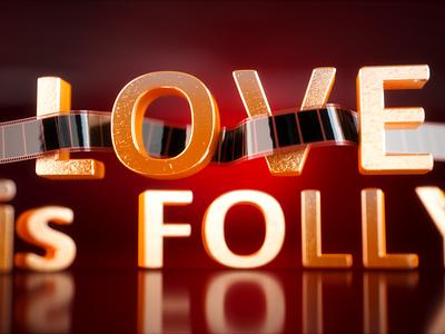 Love is Folly fstormrender 3d iray 3d render product visualization product render render 3dsmax interior visualization