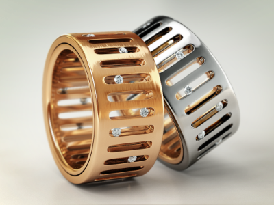 Rings product render product visualization 3d render iray 3d metal clean black visualization max 3ds 3dsmax oven render