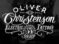 Oliver Christenson Tattoo's