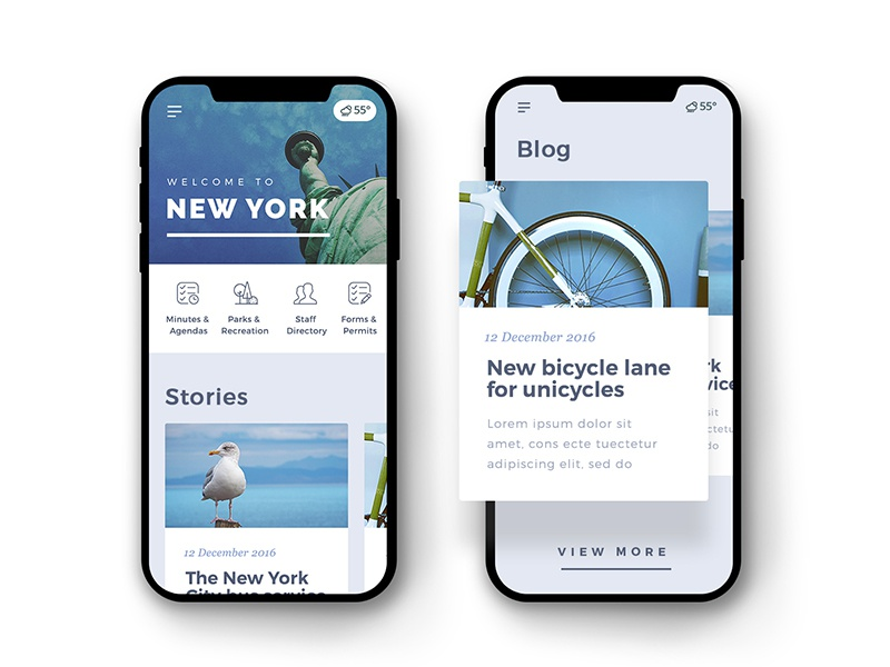 New York City information site