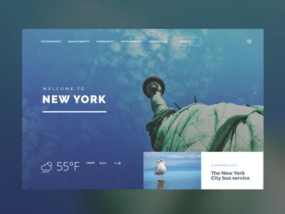 New York City information desktop