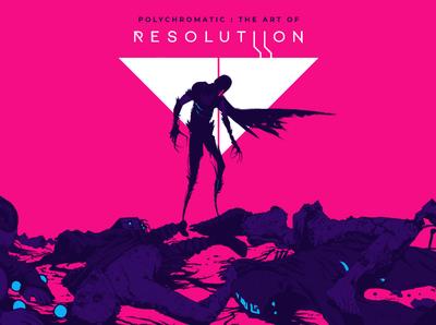 Art of Resolutiion book cover sketch procreate digital digital illustration gamedev branding art design illustration