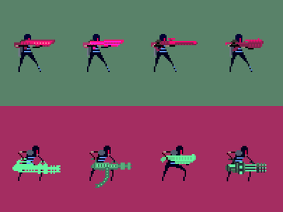Valor Weapon Concepts pixelart concept art concept game development resolutiion pixel gamedev art pixel art video game design