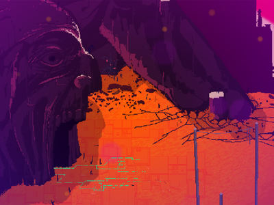 Resolutiion Environments indiedev screenshot environment game art video game pixel art design gamedev pixel art resolutiion