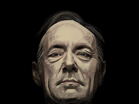 Portrait frank underwood