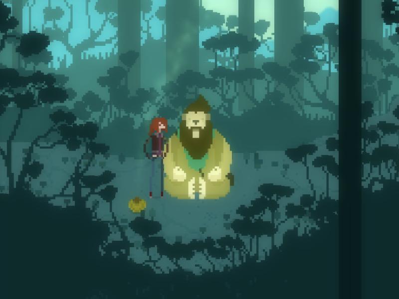 Forest design background art pixel gamedev video game videogame pixel art