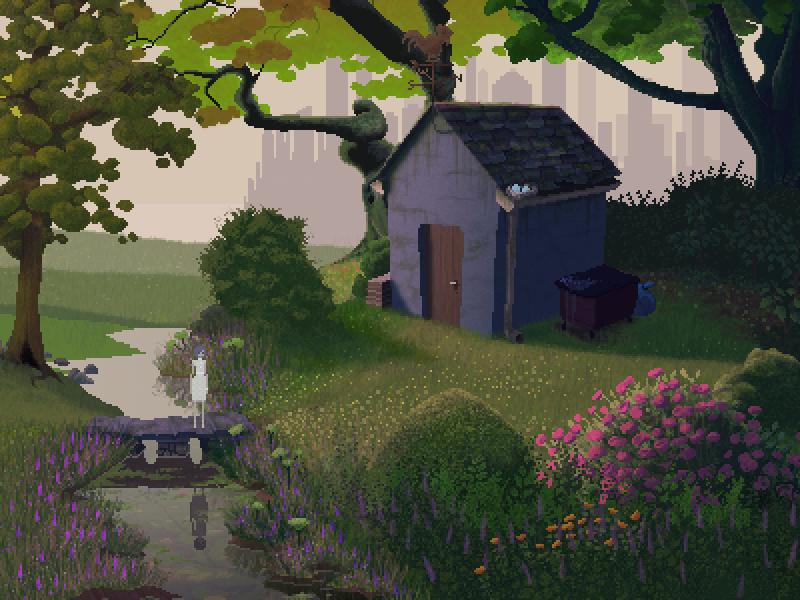 Graveyard art illustration indiedev gamedev videogame game video 16-bit 8-bit pixelart pixel art pixel