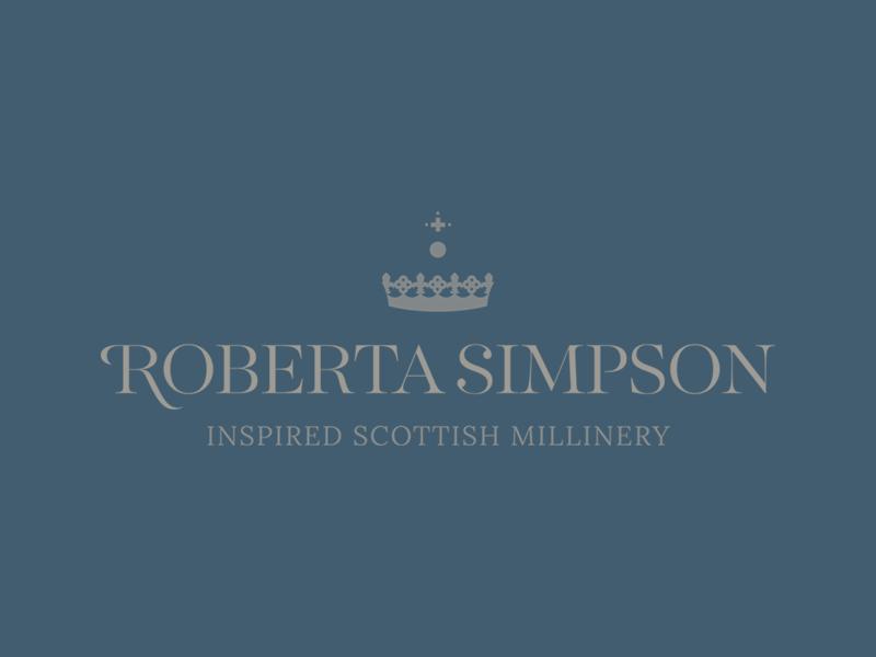 Roberta simpson logo   blue