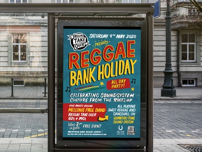 reggae take over poster