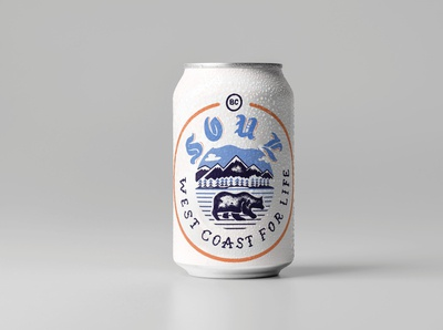 Craft beer can design