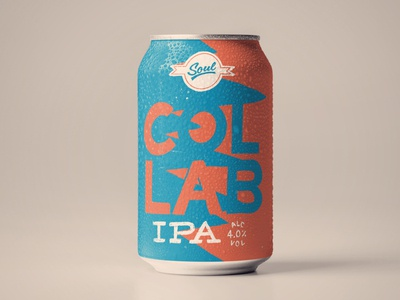 Craft beer can concept