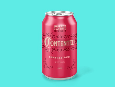 Craft beer can concept mock up