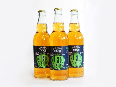 Blue Barrel Cider limited series