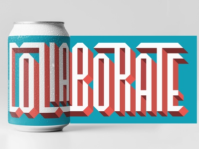 collaborate sticker process and mock up
