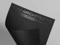 DiiM Architecture brand identity