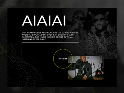 Aiaiai simple ui branding website webdesign web landing valentin semes minimal design