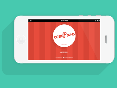 App About: Made-with-Love (v1.0) case study app ui pattern credit page about