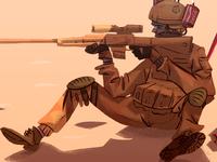 Sniper's break