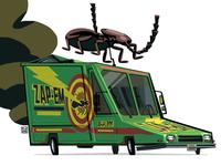 Zap-Em van from MIB