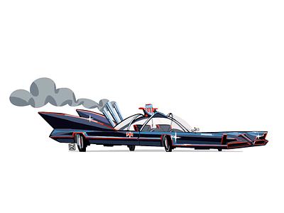 na-na na-na na-na na-na BATMAN gadget smoke digital robin batman movie car concept art illustration batmobile