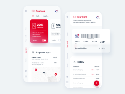 Careffour Redesign Itmagination discount promotion coupon store futuristic fintech finance bank money expenses grocery ecommerce carrefour card shopping itmagination