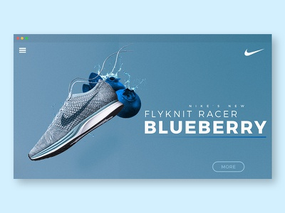 Daily UI 003: Landing Page flyknit site web nike page landing 003 ui daily
