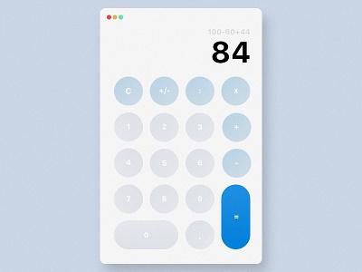 Daily UI 004: Calculator mac os calculator 004 ui daily