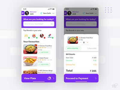 Food Delivery App UI/UX